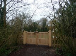 Gates for Wildlife Enclosure by Jennie Kettlewell