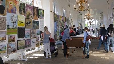 The friends of holland park art exhibition