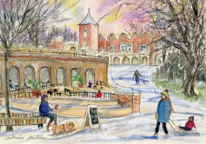Jigsaw - Winter Fun in Holland Park